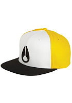 NIXON Deep Down Starter Cap white/yellow