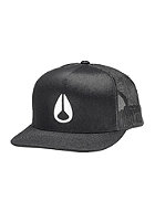 NIXON Deep Down Trucker Cap black / white
