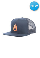 NIXON Deep Down Trucker Cap midnight navy