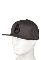 NIXON Deepdown Marle Starter Cap Black heather
