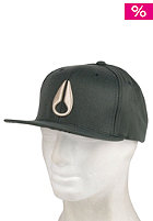 NIXON Deepdown Marle Starter Cap Black spruce