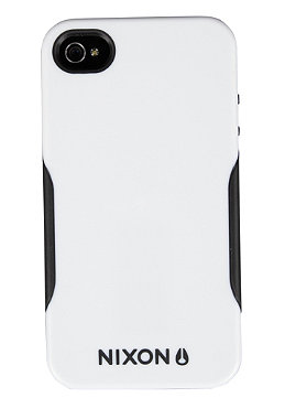 NIXON Depot Iphone 4 Case white/black