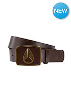 NIXON Enamel Icon Belt dark brown