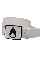 NIXON Enamel Icon Belt white/black