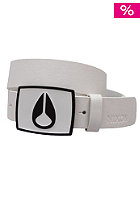 NIXON Enamel Icon Belt white / black