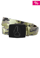 NIXON Enamel Icon Belt woodland camo