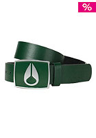 NIXON Enamel Icon Leather Belt green