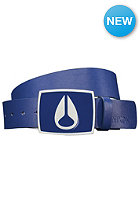 NIXON Enamel Icon Leather Belt sapphire