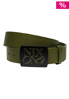 NIXON Enamel Philly Belt surplus/black