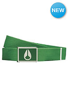 NIXON Enamel Wings Belt kelly green