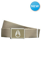 NIXON Enamel Wings Belt khaki
