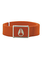 NIXON Enamel Wings Belt orange