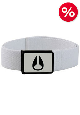 NIXON Enamel Wings Belt white/black