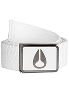 NIXON Enamel Wings Belt white