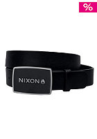 NIXON Enamel Wordmark Belt black
