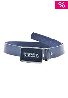 NIXON Enamel Wordmark Belt navy
