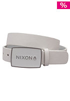 NIXON Enamel Wordmark Belt white