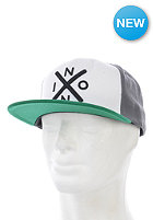 NIXON Exchange Snapback Cap white/green