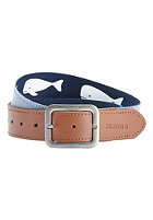 NIXON Faction Reversible Belt whale