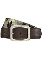 NIXON Faction Reversible Belt woodland camo