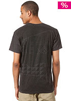 NIXON Geo S/S T-Shirt dark heather