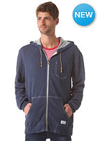 NIXON Granite Hooded Zip Sweat faded navy