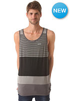 NIXON GT Tank S/S T-Shirt black / charcoal / gray