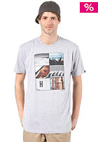 NIXON Hawaiiana Regular S/S T-Shirt heather gray
