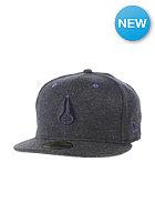 NIXON High 5 Fitted Cap black heather