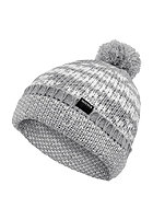 NIXON Iceland Beanie heather gray/white