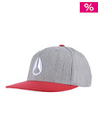 Icon 210 red / heather gray