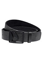 NIXON Icon Cut Out Belt all black