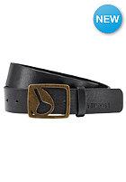 NIXON Icon Cut Out Belt black / gold