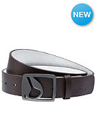 NIXON Icon Cut Out Belt chocolate
