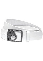 NIXON Icon Cut Out Belt white
