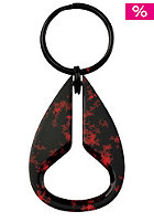 NIXON Icon Key Chain black/red