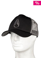 NIXON Icon Trucker Cap black/charcoal