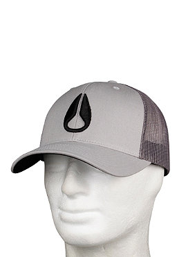 NIXON Iconed Trucker Hat gray