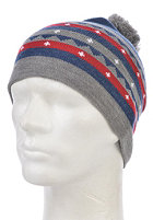 NIXON Iconic Beanie dark indigo heather/multi