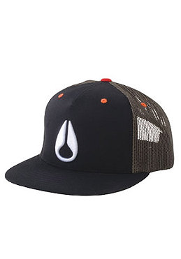 NIXON Iconic Trucker Cap black 