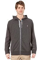 NIXON Identity III Hooded Zip Sweat black heather