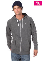 NIXON Identity Too Hooded Zip Sweat dark heather