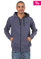 NIXON Identity Too Hooded Zip Sweat navy heather