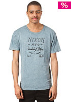 NIXON Inkwell S/S T-Shirt indigo