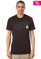 NIXON Label S/S T-Shirt black