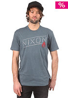 NIXON Label S/S T-Shirt indigo