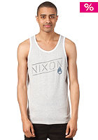 NIXON Label Tank Top heather gray