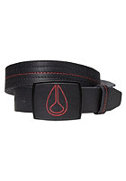 NIXON Leather Icon Belt black