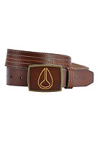 NIXON Leather Icon Belt brown