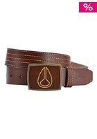 NIXON Leather Icon Belt brown